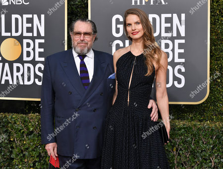 Julian Schnabel and Louise Kugelberg