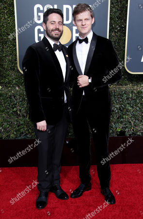 Stock Picture of Garrard Conley and Lucas Hedges