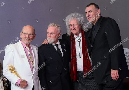 Jim Beach, Roger Taylor, Brian May and Graham King - Best Motion Picture, Drama - 'Bohemian Rhapsody'