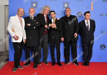 Editorial image of 76th Annual Golden Globe Awards, Press Room, Los Angeles, USA - 06 Jan 2019
