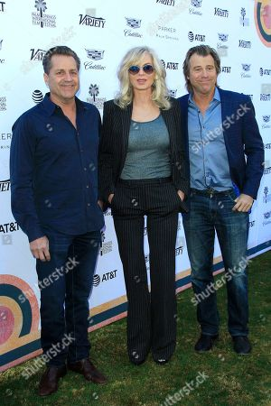 James Van Patten, Eileen Davidson and Vince Van Patten arrive for the 2019 Palm Springs International Film Festival - Variety's Creative Impact Awards/10 Directors To Watch at the Parker Palm Springs in Palm Springs, California, USA, 04 January 2019. The Palm Springs Film Festival honors actors in eleven categories at its awards gala.