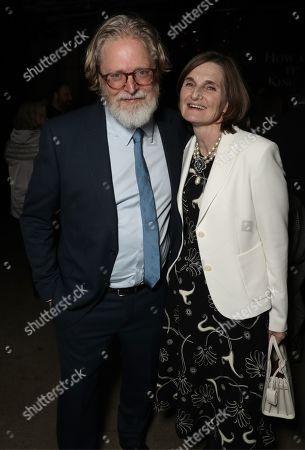 Stock Image of Tony McNamara and Deborah Davis