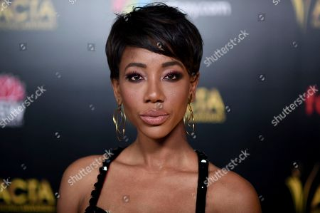 Charmaine Bingwa attends the 8th Annual AACTA International Awards at the Mondrian Hotel, in West Hollywood, Calif