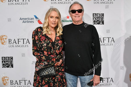 Stock Image of Margaret DeVogelaere and Peter Fonda