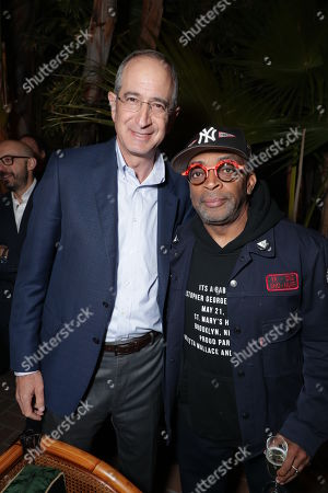 Stock Picture of Brian Roberts - Chairman, President & CEO Comcast and Focus Features, Writer/Producer/Director Spike Lee