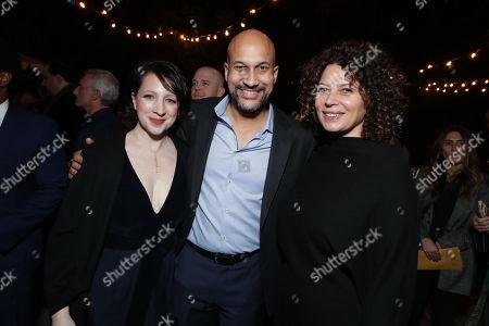Elisa Key, Keegan-Michael Key and Donna Langley - Chairman Universal Pictures