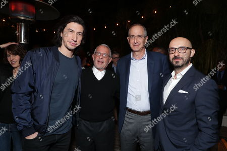 Adam Driver, Ron Meyer - Vice Chairman NBCUniversal, Brian Roberts - Chairman, President & CEO Comcast and Peter Kujawski - Chairman, Focus Features
