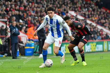 Leon Balogun (14) of Brighton and Hove Albion during the The FA Cup 3rd round match between Bournemouth and Brighton and Hove Albion at the Vitality Stadium, Bournemouth