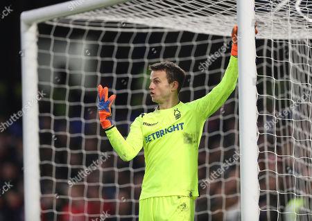 Luke Steele of Nottingham Forest
