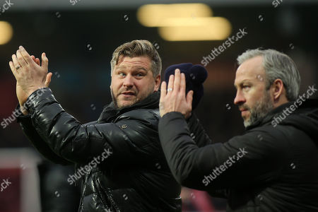 Editorial image of Brentford v Oxford United, Emirates FA Cup, Football, Griffin Park, London, Greater London, United Kingdom - 05 Jan 2019