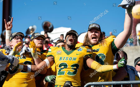 Editorial image of FCS Championship Game Football, Frisco, USA - 05 Jan 2019