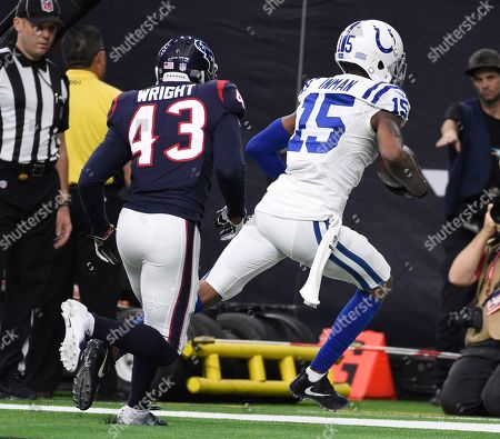 Editorial picture of Colts Texans Football, Houston, USA - 05 Jan 2019