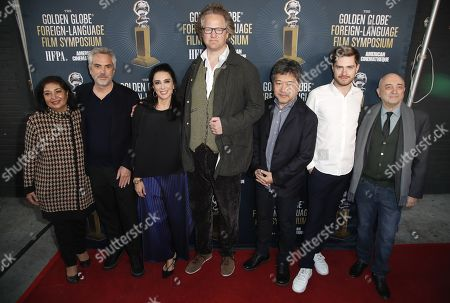 Editorial photo of 2019 Golden Globe Foreign-Language Film Symposium, Hollywood, USA - 05 Jan 2019