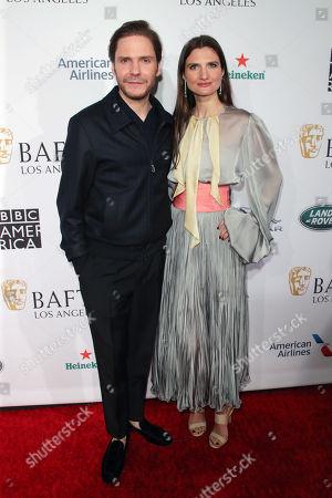 Daniel Bruhl and Felicitas Rombold
