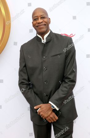 Edwin Moses arrives at the 6th annual Gold Meets Golden, in West Hollywood, Calif