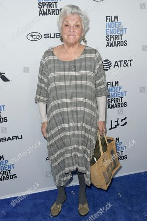Tyne Daly attends the 2019 Film Independent Spirit Awards Nominee Brunch, in West Hollywood, Calif