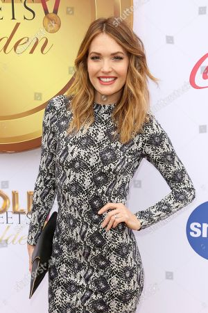 Amy Purdy arrives at the '6th Annual Gold Meets Golden', in West Hollywood, Calif