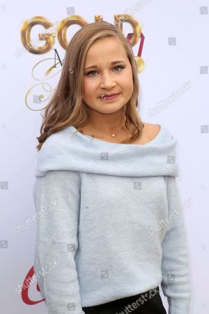 Madison Kocian arrives at the '6th Annual Gold Meets Golden', in West Hollywood, Calif