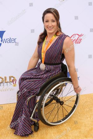 Tatyana McFadden arrives at the '6th Annual Gold Meets Golden', in West Hollywood, Calif