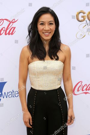 Michelle Kwan arrives at the '6th Annual Gold Meets Golden', in West Hollywood, Calif