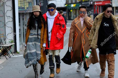 Susie Bubble, Declan Chan, Tian Wei Zhang and Sui He