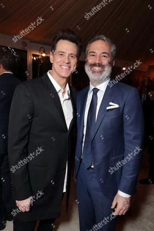 Jim Carrey and Michael Aguilar