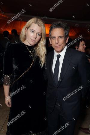 Amanda de Cadenet and Ben Stiller