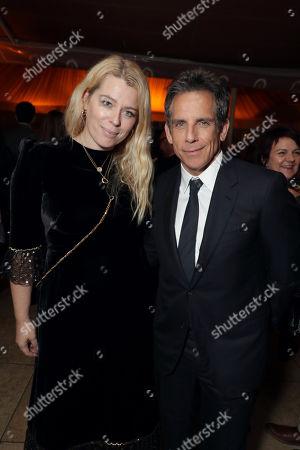 Stock Photo of Amanda de Cadenet and Ben Stiller