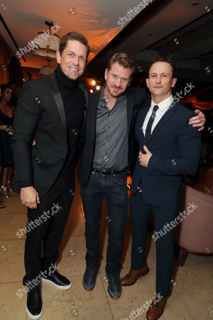 Stock Picture of Steve Howey, Dash Mihok and Jonathan Tucker