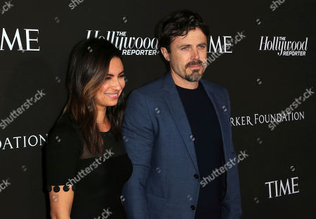 Casey Affleck, Summer Phoenix. Summer Phoenix, left, and Casey Affleck arrives at the 2019 Sean Penn J/P HRO & Disaster Relief Organizations Gala at The Wiltern Theatre, in Los Angeles