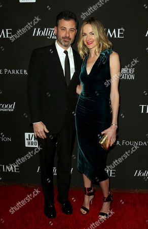 Jimmy Kimmel, Molly McNearney. Jimmy Kimmel, left, and Molly McNearney arrive at the 2019 Sean Penn J/P HRO & Disaster Relief Organizations Gala at The Wiltern Theatre, in Los Angeles