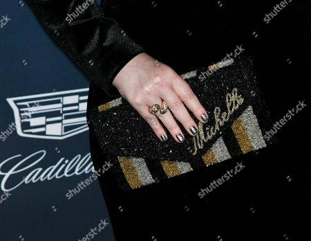 Michelle Trachtenberg, bag detail
