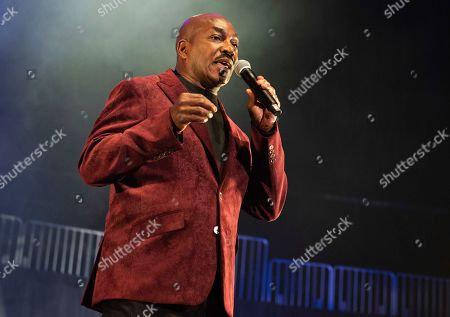 Stock Picture of Clifton Powell performs onstage at State Farm Arena, in Atlanta