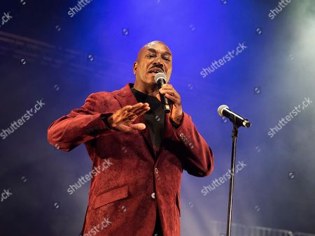 Clifton Powell performs onstage at State Farm Arena, in Atlanta