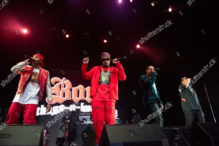Editorial picture of Bones Thugs-n-Harmony in Concert - , Atlanta, USA - 05 Jan 2019