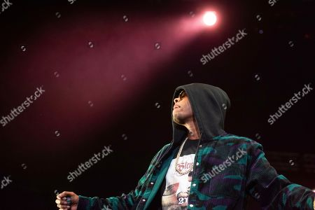 Flesh-n-Bone of Bones Thugs-n-Harmony performs onstage at State Farm Arena, in Atlanta