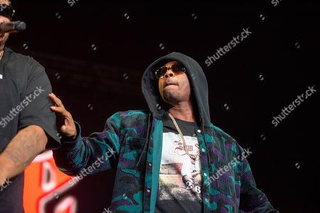 Stock Image of Flesh-n-Bone of Bones Thugs-n-Harmony performs onstage at State Farm Arena, in Atlanta