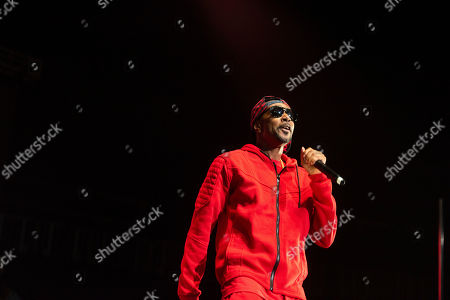 Stock Photo of Krayzie Bone of Bones Thugs-n-Harmony performs onstage at State Farm Arena, in Atlanta