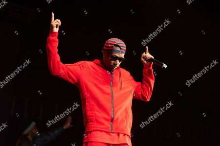 Stock Picture of Krayzie Bone of Bones Thugs-n-Harmony performs onstage at State Farm Arena, in Atlanta