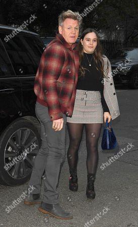 Gordon Ramsay and Holly Ramsay