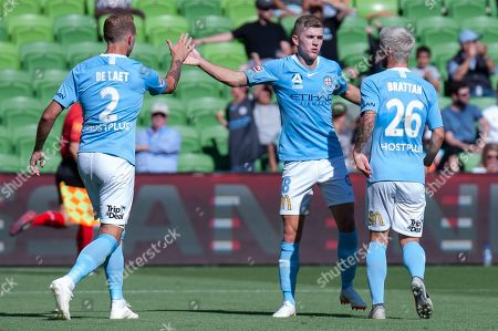 Editorial image of Melbourne City FC v Newcastle Jets, A-League, Round 11 football match, AAMI Park, Melbourne, Australia - 06 Jan 2019