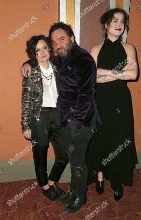 Sara Gilbert, Johnny Galecki, Alaina Meyer