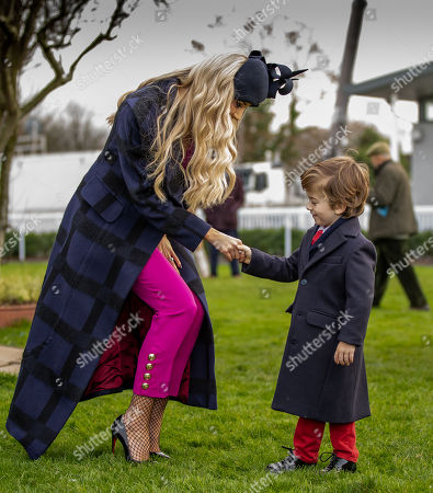 Rosanna Davison meets 4 year old Jack McCardle from Kill