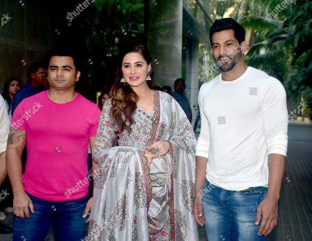 Sachiin Joshi, Nargis Fakhri and Vivaan Bhathenaare