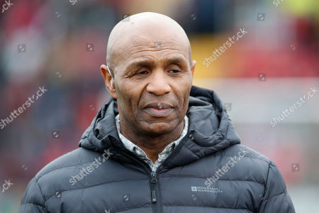 Luther Blissett the former Watford footballer