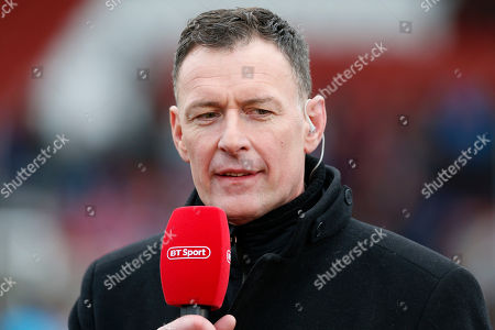Stock Picture of Chris Sutton the former footballer who now works for BT Sport