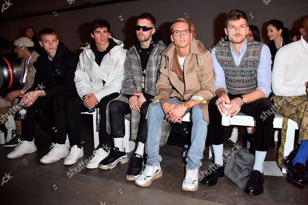 Pietro Boselli, Marcus Butler, Oliver Proudlock and Jim Chapman