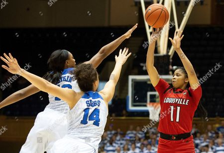 Editorial image of Louisville Duke Basketball, Durham, USA - 06 Jan 2019