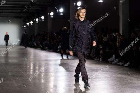 Editorial image of Christopher Raeburn - Runway - London Fashion Week Men's 2019, United Kingdom - 06 Jan 2019
