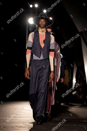 Astrid Andersen Show Runway London Fashion Week Stock Photos